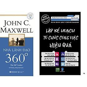 Combo 2 Cuốn: Nhà Lãnh Đạo 360 Độ + Lập Kế Hoạch Tổ Chức Công Việc Hiệu Quả