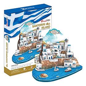 Mô Hình Giấy Cubic Fun: Santorini Island [MC195h]