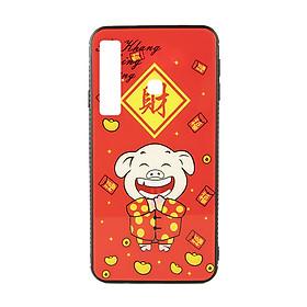 Hình đại diện sản phẩm Ốp lưng cho Samsung A9 2018/ A750 Heo Thần Tài - An Khang