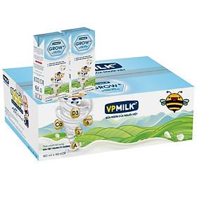 Thùng 48 Hộp Sữa Tiệt Trùng Có đường VPMilk Grow + (180ml / Hộp)