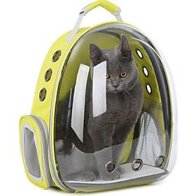 Balo Phi Hành Gia Trong Suốt Cho Thú Cưng - Balo đựng Chó Mèo (Màu Tự Chọn)