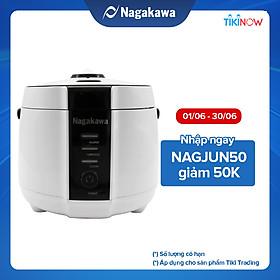 Nồi Cơm Điện Nắp Gài Nagakawa NAG0131 (1.2 Lít) - Hàng Chính Hãng