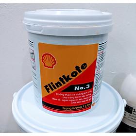 Shell Flintkote 3 Sơn chống thấm bể nước hồ cá Koi (1kg và 3,5kg)