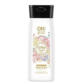 Sữa tắm dưỡng ẩm hương nước hoa On: The Body, giúp dưỡng trắng mịn màng với bột ngọc trai 200gr