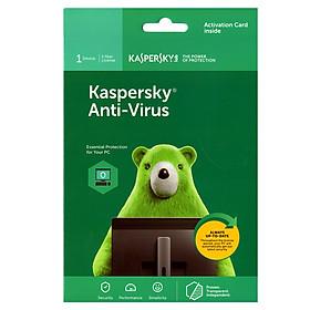 Kaspersky Anti Virus Cho 1 Máy Tính - KAV1U