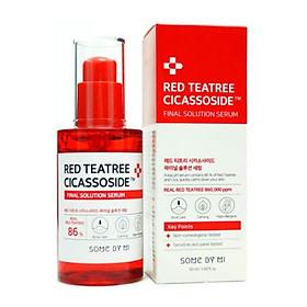 Tinh Chất Giảm Mụn, Phục Hồi Cho Da Siêu Nhạy Cảm Chiết Xuất Tràm Trà Đỏ Some By Mi Red TeaTree Cicassoside Final Solution Serum 50ml