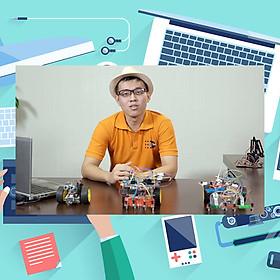 Khóa Học Chế Tạo Cánh Tay Robot Điều Khiển Bằng Máy Tính