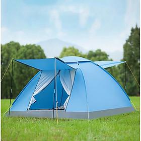 Lều cắm trại tự bung có mái che kích thước 200cm x 200cm x 135cm