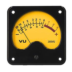 VU Meter Panel VU Meters Warm Back Light Analog DB Sound Level Indicator Portable DB Meter Power Amplifier Recording &