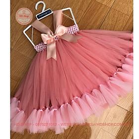 Biểu đồ lịch sử biến động giá bán Váy công chúa cho bé ️️ Váy công chúa hồng cam thiên nga cho bé gái
