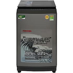 Máy Giặt Cửa Trên Toshiba AW-K1005FV-SG (9kg) - Hàng Chính Hãng - Chỉ Giao tại Nha Trang
