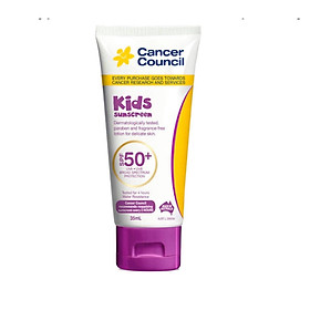 Kem chông nắng trẻ em Cancer Council Kids SPF 50+/PA ++++ 35ml