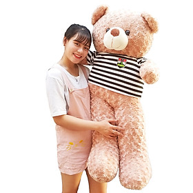 Gấu Bông Teddy 1m4 khổ vải cao 1m2 dễ thương