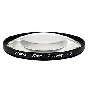 Set Kính Lọc Hiệu Ứng Andoer Macro Close-Up +1 +2 +4 +10 - Kèm Túi Đựng Máy Ảnh DSLR Nikon D80 D90 D7000/Canon Tamron Sigma (67mm)