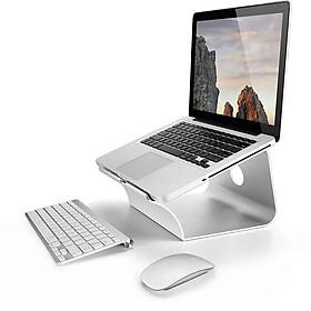 Giá đỡ nâng cao laptop Macbook thiết kế liền mạch bằng nhôm nguyên khối D1 Vu Studio - Hàng chính hãng