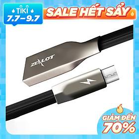 Dây Cáp Sạc Dành Cho Điện Thoại Samsung Oppo Xiaomi Chuẩn Đầu Micro USB Zealot - hàng chính hãng