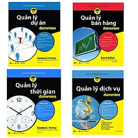 Bộ 4 cuốn sách Dummies về quản lý kinh doanh: Quản Lý Bán Hàng For Dummies - Quản Lý Dự Án For Dummies - Quản Lý Dịch Vụ For Dummies - Quản Lý Thời Gian For Dummies