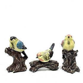 Decor Trang Trí Để Bàn Ba chú chim DDB208