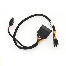 Cáp nguồn 6Pin sang SATA HDD, ODD cho máy DELL 3653 3650 3655