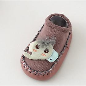 Giày vớ tập đi cho bé