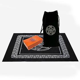 Combo Bộ Bài Bói Guidance of Fate Easy Tarot Card Cao Cấp Bản Đẹp và Túi Nhung Đựng Tarot và Khăn Trải Bàn Tarot