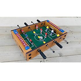 Bộ đồ chơi bàn bi lắc đá bóng bằng gỗ 4 tay cầm