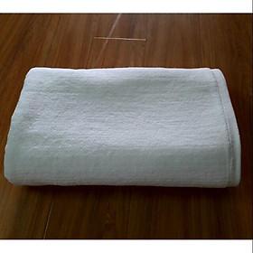 Combo 4 khăn trắng+1 khăn tím khách sạn