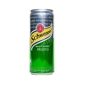 Schweppes Taste of Classic Mojito 330 ml - Nước ngọt có ga vị cocktail cổ điển SCHWEPPES 330ml
