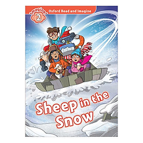 Oxford Read And Imagine Level 2: Sheep in the Snow (Christmas books)