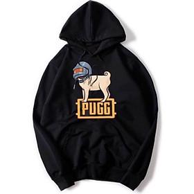 ( Best seller) Áo hoodie cao cấp pugg đội nón có bigsize