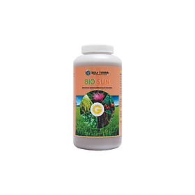 Vi sinh tăng cường, bổ sung quang hợp cho cây Bio Sun NSX Soly Tierra chai 1 lít