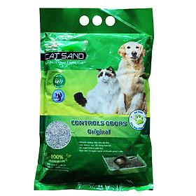 Cát vệ sinh cho thú cưng SP Bentonite Kún Miu siêu vón hút nước tiểu và khử mùi phân 5L