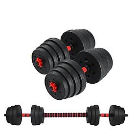 Bộ Tạ Tập Tay Đa Năng Điều Chỉnh 30kg  Kết Hợp Tạ Tay Và Tạ Đẩy - Đại Nam Sport