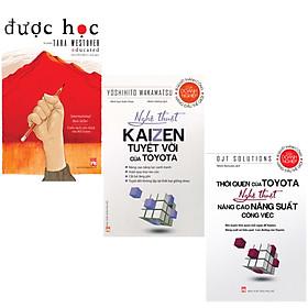 Combo 3 Cuốn Được Học + Nghệ Thuật Kaizen Tuyệt Vời Của Toyota +Thói Quen Của Toyota Nghệ Thuật Nâng Cao Năng Suất Công Việc