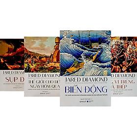 Combo 4 Cuốn Bìa Cứng: Biến Động + Sụp Đổ + Súng, Vi Trùng Và Thép + Thế Giới Cho Đến Ngày Hôm Qua (Tặng Kèm Boxet Sang Trọng)