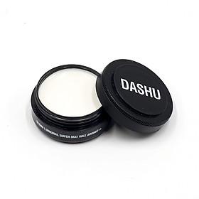 Sáp Clay Wax Dashu For Men Premium Original Super Mat 100ml, wax vuốt tóc nam độ cứng 10+, không bóng, thích hợp vuốt undercut, tốt cho tóc màu
