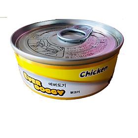 Đồ thưởng cho chó - Pate EverDoggy Hàn Quốc vị gà cho chó  (lon 100gr)
