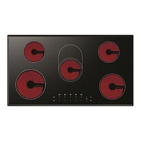 Bếp Âm Hồng Ngoại 5 Bếp Lofra Venere 90 (90cm - 9600W) - Hàng Chính Hãng