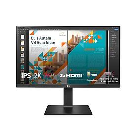 Màn hình máy tính LG QHD 23.8'' IPS HDR10 chân đế linh hoạt 24QP550-B Hàng Chính Hãng