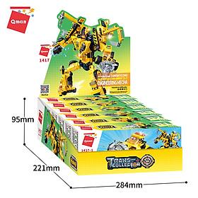Đồ chơi xếp hình, lắp ráp lego Qman 1417 - Người máy kĩ thuật  (479 mảnh ghép)