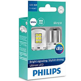 Bóng Đèn tín hiệu báo lùi Ô tô, Xe hơi Philips Ultinon LED 11498ULWX2 12V 6000K Trắng