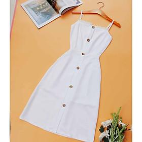 Đầm maxi 2 dây thiết kế Siêu Xinh