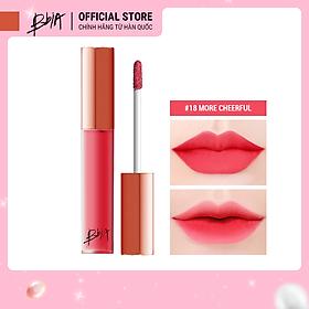 Son kem lì Bbia Last Velvet Lip Tint - 18 More Cheerful 5g (Màu hồng tươi)