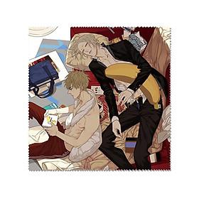 Khăn lau kính anime đam mỹ 19 days ảnh đẹp chibi tặng ảnh Vcone