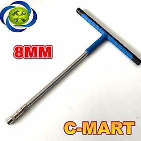 Tuýp chữ T C-MART F0091-08 08mm cán bọc nhựa mềm