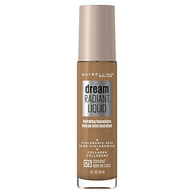 Maybelline Dream Radiant Liquid Foundation 125 Coconut
