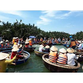 Tour Thuyền Thúng Tham Quan Rừng Dừa Bảy Mẫu Từ Đà Nẵng