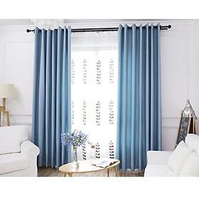 Rèm vải thô mềm, size 1.3 x 1.8m, cản nắng 90%