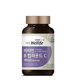 Thực phẩm bảo vệ sức khỏe VITAMIN B COMPOUND C ACTIVE 60 viên Vitamin tổng hợp B và C