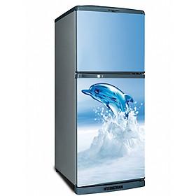 Decal dán trang trí tủ lạnh